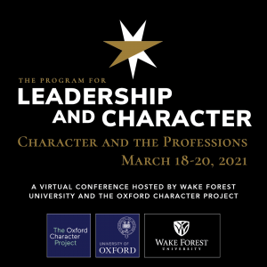 Leadership and Character conference image